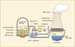 Nuclear Power Plant Diagram How It Works