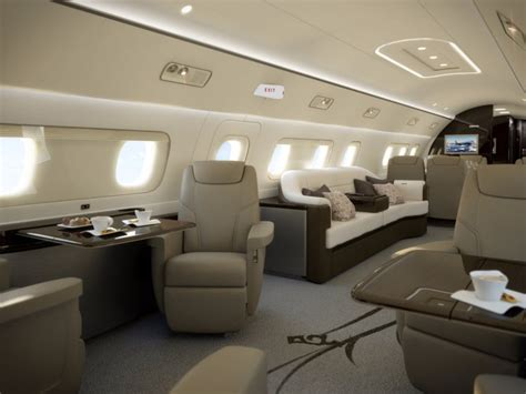 luxurious private jets business insider