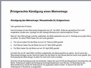 Kündigung Mietwohnung Frist : k ndigung muster download chip ~ Buech-reservation.com Haus und Dekorationen