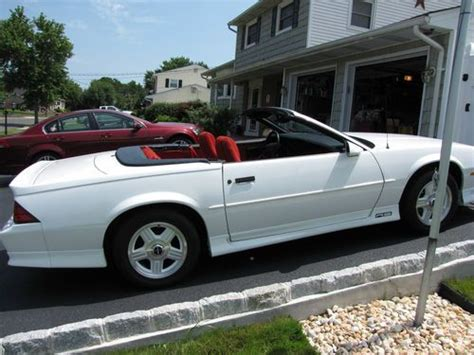 how cars run 1992 chevrolet camaro user handbook sell used 1992 chevrolet camaro rs convertible in old bridge new jersey united states for us
