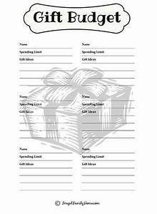 Setting a Bud for Holiday Gifts Free Printable}