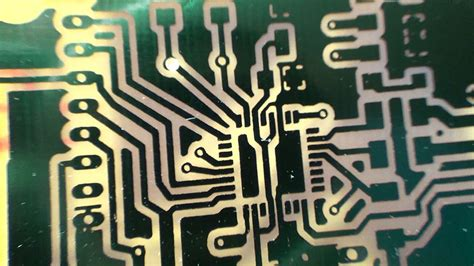Diy Printed Circuit Board With Solder Mask Part