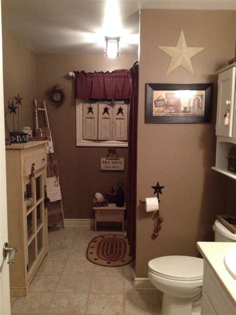 primitive bathroom home decor decorating rustic