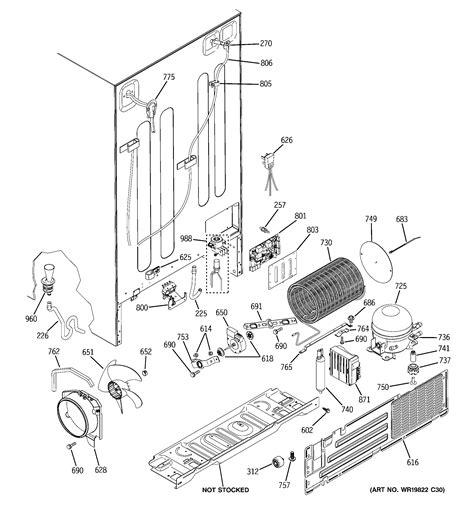 refrigerator wiring diagram part complete wiring schemas