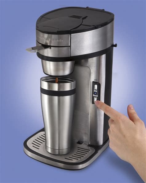 4.3 out of 5 stars with 171 ratings. The Scoop® Single-Cup Coffee Maker | One Cup Coffee Maker | Hamilton Beach