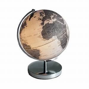 Lampe Globe Terrestre : globe terrestre lumineux achat prix fnac ~ Teatrodelosmanantiales.com Idées de Décoration