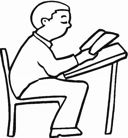Coloring Pages Education Student