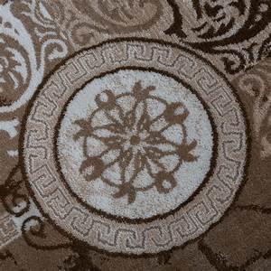designer teppich modern meliert floral mit versace muster With balkon teppich mit tapeten versace muster