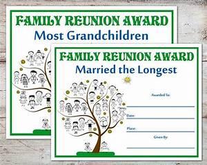 Family reunion awards family reunion certificates family reunion family parties family for Free printable family reunion certificates