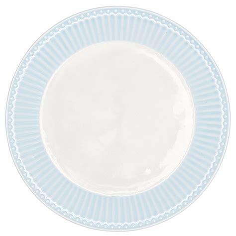 Porzellan Teller by Greengate Porzellan Teller Pale Blue 23 Cm