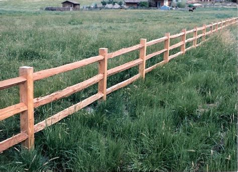Rustic/rail Wood Fencing