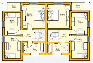 Bauen Zweifamilienhaus Grundriss : massives haus f r 2 familien bauen ytong bausatzhaus ~ Lizthompson.info Haus und Dekorationen