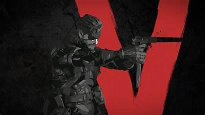 Gear Metal Solid Boss Mgsv Mgs5 Wallpapers