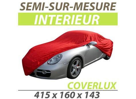 housse protection voiture bache protection auto semi sur mesure interieure coverlux pour