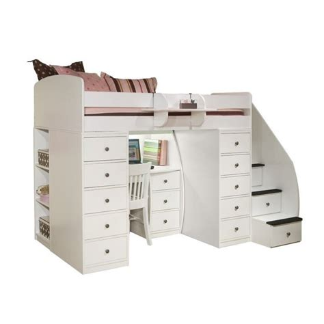 space saver desk bed space saver wood loft bed 22 808 xx