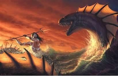Leviathan Fantasy Artwork Wallpapers Backgrounds Desktop
