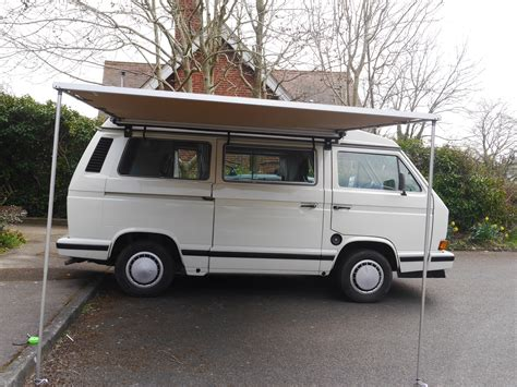 Vw T25 Arb 2500mm X 2500mm Side Awning With Cvc T25/t3