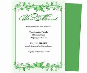 14 best images about moving announcements new address for Just moved cards templates