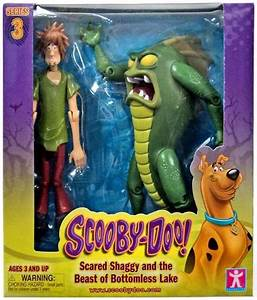 Scooby Doo Series 3 Scared Shaggy The Beast Of Bottomless