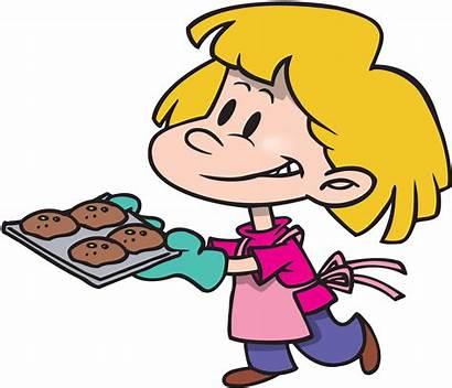 Cooking Cartoon Baking Clipart Kitchen Muffins Safety