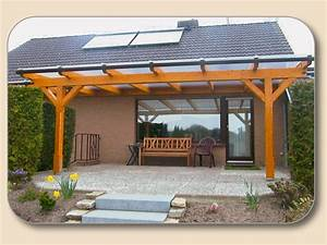Uberdachung holz und glas bausatz preise hersteller holzon for Holz überdachung terrasse
