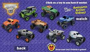 Monster Jam & Hello Kitty – Happy Meal Toys