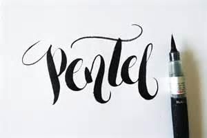 Calligraphy Brush Pen Lettering
