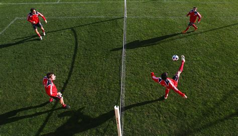 snapshot bayern munichs stars plays football tennis