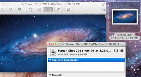 changing the default screenshot format in os x how