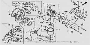 Honda Generator Parts Ex5500 A Vin  Gx360