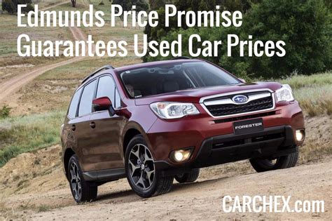 car price edmunds price promise guarantees used car prices