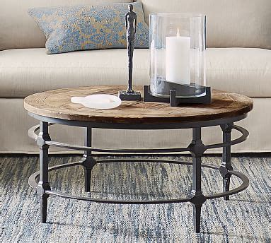 """Get it as soon as wed, may 19. Parquet 54"""" Rectangular Reclaimed Wood Coffee Table   Pottery Barn"""