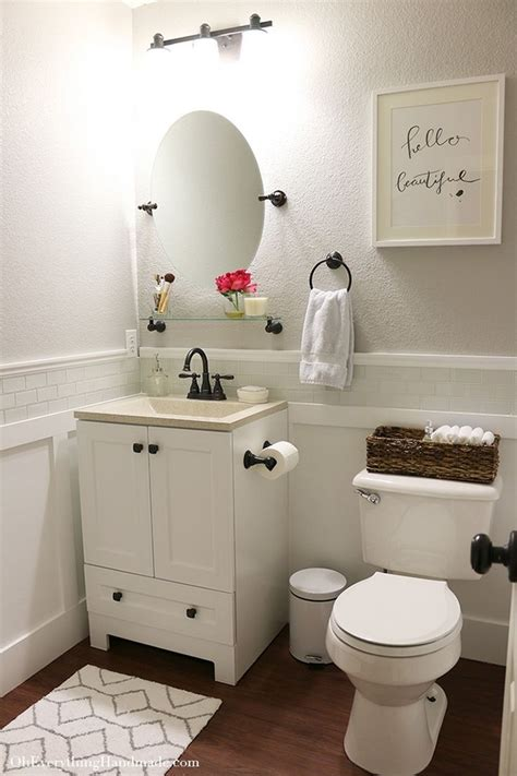 Inexpensive Bathroom Makeover Ideas by Small Bathroom Makeovers Ideas On A Budget Diy Design