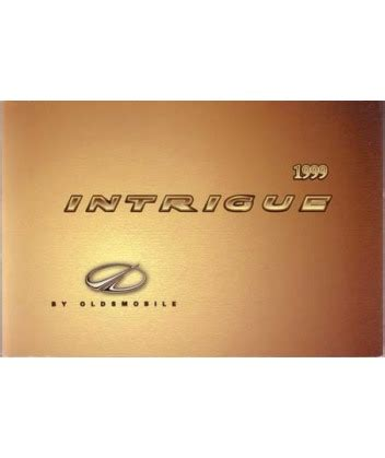 free download parts manuals 1999 oldsmobile alero user handbook 1999 oldsmobile intrique owners manual