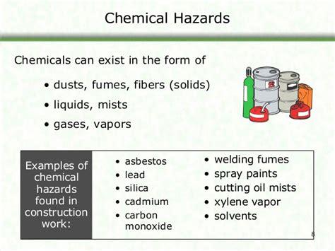 health hazards  contructionsos