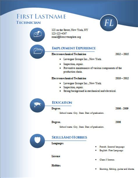 Free Cv Templates To Use by How To And Use Our Templates Get A Free Cv