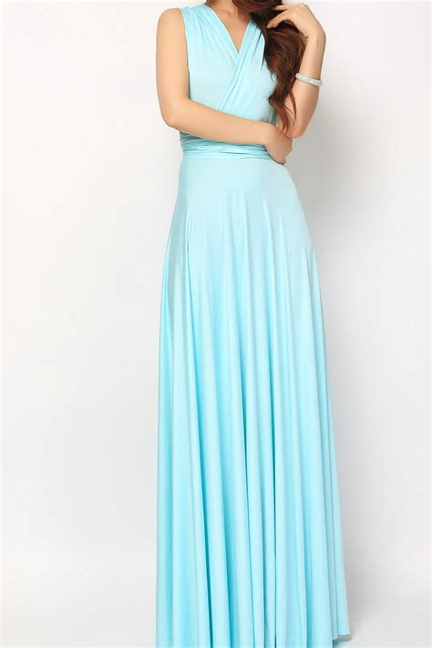 Light Pink Formal Dresses by Baby Blue Long Infinity Dress Bridesmaid Dresses Lg 38