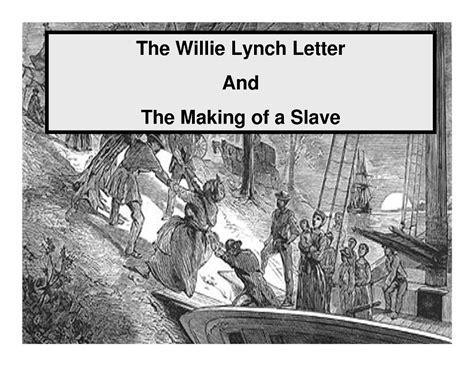 willie lynch letter tavon harris all awards 38916
