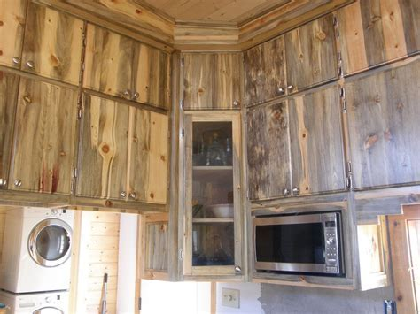 Hand Made Blued  Pine Custom Kitchen by Thewoodsmith