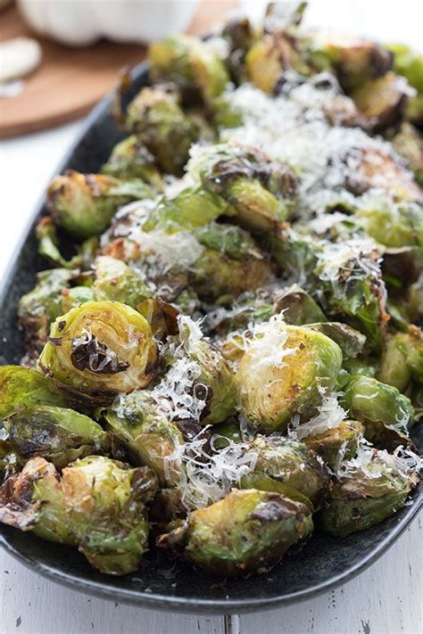 sprouts air fryer brussels keto parmesan alldayidreamaboutfood garlic cooking dish recipes close brussel recipe sprout side fried