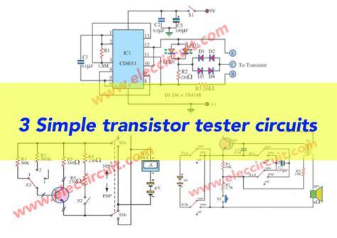Transistor Tester Circuit Eleccircuit