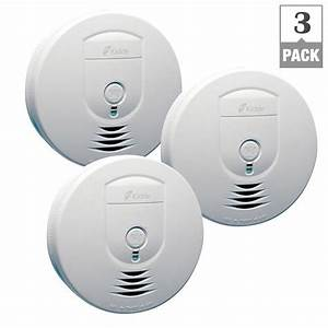 Kidde Battery Operated Smoke Detector With Wire