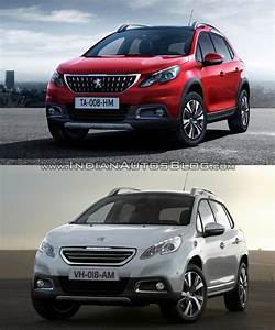 Peugeot Cabailh : 2016 peugeot 2008 facelift vs older model old vs new cars daily updated pinterest ~ Gottalentnigeria.com Avis de Voitures