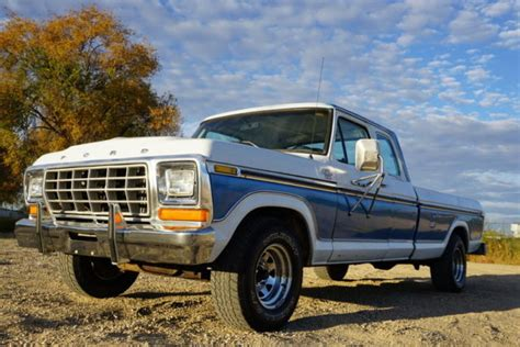 Ford F 150 Mileage by 1978 Ford F150 Cab Ranger Xlt Edition 2 Owner Low