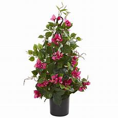 Nearly Natural Indoor 24 In Bougainvillea Artificial