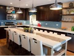 Minimalis Large Kitchen Islands With Seating Gallery Kitchen With Large Kitchen Island This Contemporary Kitchen S Large
