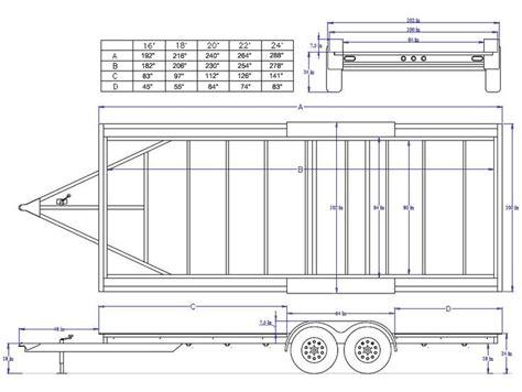 tiny house size bendtrailers com iron eagle steel frame 8 1 2 x 24 14k made for a tiny house tiny er