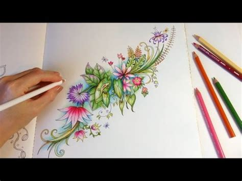 magical jungle life  happy pond coloring  colored