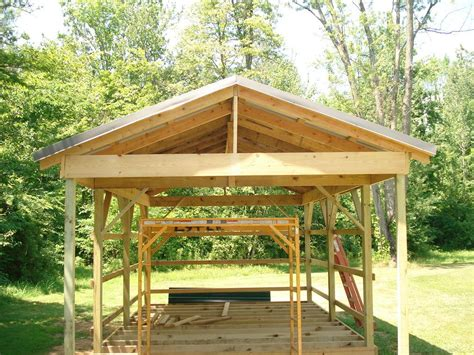 pole shed plans 12x16 stick barn sheds diy cabin building a small