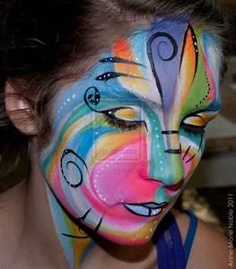 abstract face painting face-painting | Face Painting ...